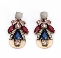 New stud earrings 2014 fashion HOT women earrings wholesale crystal vintage korean Earrings for women jewelry