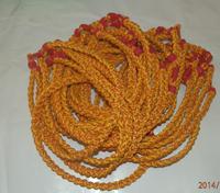 Free shipping titanium necklace X45 3 ropes braided necklaces,Germanium&Titanium necklaces 100pcs/lot