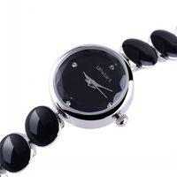 Upstart Watch& 3 Colour Women Business Watches,Stainless Steel Belt Bracelet Watches,Drop Oil Lady's Watches