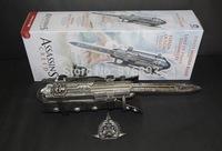 Free Shipping 1:1 NECA Assassin's Creed Hidden Blade Brotherhood Ezio Auditore Gauntlet Replica Cosplay Toys Chritmas Gift 15pcs
