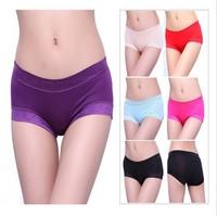 Cabbare butt-lifting seamless panties price bamboo fibre women's comfortable sexy panties trigonometric small boxer panties a39