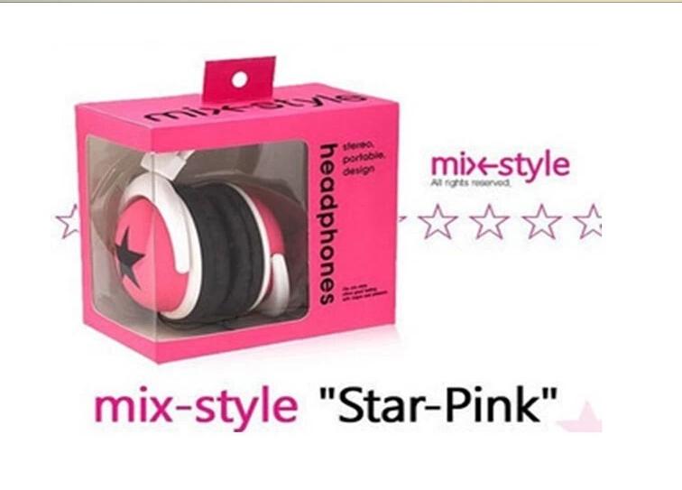 Mixstyle big earphones headset earphones gift big earphones hot-selling logo(China (Mainland))