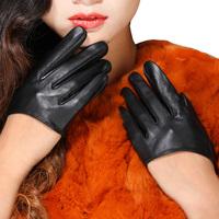 female thin ultra-short gloves women's gloves fashion sexy fashion gloves genuine leather gloves