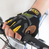 Bicycle gloves fashion outside sport fitness slip-resistant gloves half finger leather gloves