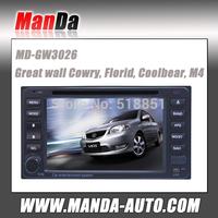 car dvd gps for Great wall Gowry Florid Coolbear M4 2 din car dvd gps navigation with Bluetooth Radio fm am ATV iPod USB SD