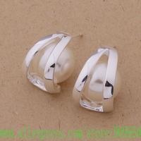 AE298 925 sterling silver earrings , 925 silver fashion jewelry , nice pearl /aubajlia fxdaooka