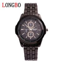 LONGBO 8503 boutique Business men watch Watch of wrist of steel belt Waterproof quartz watches