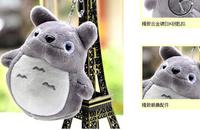 Kawaii NEW Multi Colors MY Neighbor TOTORO 10*8CM Key HOOK Pendant TOY DOLL ; Plush Stuffed TOY DOLL ; BAG Pendant TOY Gift DOLL