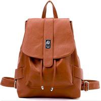 New arrive fashion women leather backpack for teenage girls top quality travel bag leisure sport shoulder bag