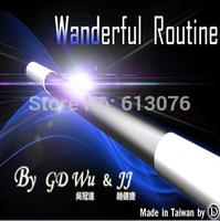 The Wanderful Routine   - Magic trick,stick magic.magic trick,stage magic, 2014 new magic trick