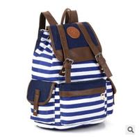 Women's vintage school bag Canvas Backpack Fringe Bags blue  female girl printing  bolsa Travel Bags Sports galaxy Backpack