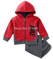 2014 NEW arrive brand  nk children sport suit 2 pcs set children cloth children sport clothing children autumn set