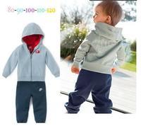 Wholesale 2015 new arrive  brand nk children clothing set children 2 pcs sport suit autumn cloth set children cloth