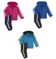 2014 new arrive low price 3color children clothing set children 2 pcs sport suit autumn cloth set brand Ad children cloth