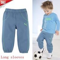Wholesale 2014 new arrive low price boys long sleeves sport suit children clothing set boys autumn cloth set children cloth