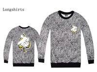 2014 Diamond Supply brand new mens diamond Crooks Castle Pullover sweater Skateboards hiphop sweatshirts