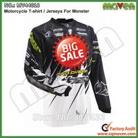 Hot Sale Long Sleeve Motorcycle T-shirt Motocross Racing Jerseys Cycling Sports Jerseys T-shirt Motorcycle Shirt Cycling Shirt