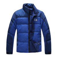 Free shipping !!! New 2014 men's outdoor waterproof windproof jacket thick warm genuine white duck down ski suit , S-3XL