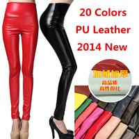 PU Leather women leggings fitness legging gothic winter disco colored pants leather leggings jeans punk rock for women legins