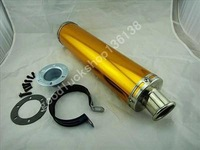 Exhaust Muffler Fit FOR  CBR 250 RR CBR250 CBR250RR Golden S05