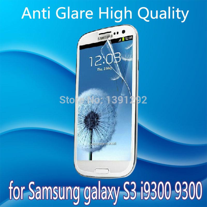 Бесплатная доставка с антибликовым покрытием HD экран протектор для Samsung galaxy S3 i9300 9300 экран защитная пленка без розничной упаковке