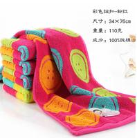 100% soft cotton absorbent towel washouts facial adult super soft cotton towel HD1018