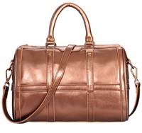 Top Fashion bag genuine leather fashion handbag women's drum bucket 2014 cowhide handbag one shoulder portable inclined bags
