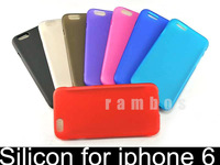Soft Silicon TPU Gel Case Cell Phone Cover for iphone 6