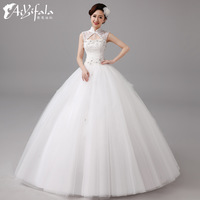 Retro elegant cheongsam collar flower ball gown upscale Wedding Dresses 2014 fashion vestido de novia plus size 0030 hs