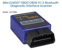 GS-Z0008,Mini ELM 327 Car DVD Player,OBD2 Adaptor Diagnostic interface scanner