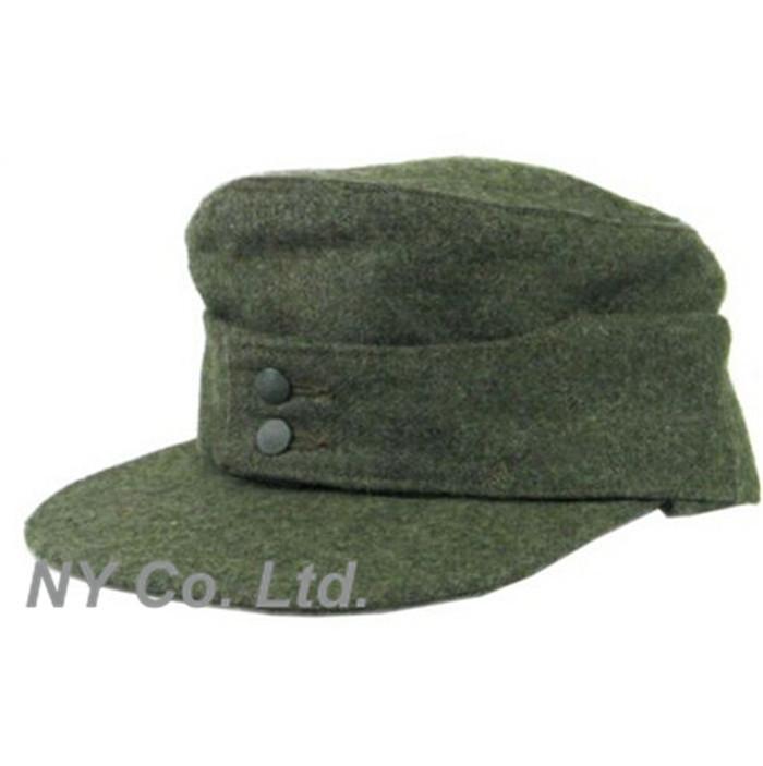German elite army m43 best field wool cap replica 60cm mountain cap