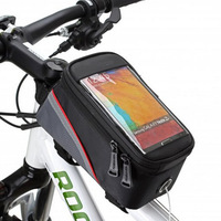 Free shipping Super Sale!Bike Bicycle Frame Front Tube Bag Touch Case For 5.5-inch HTC Samsung iPhone 5/6 ROSWHEEL !