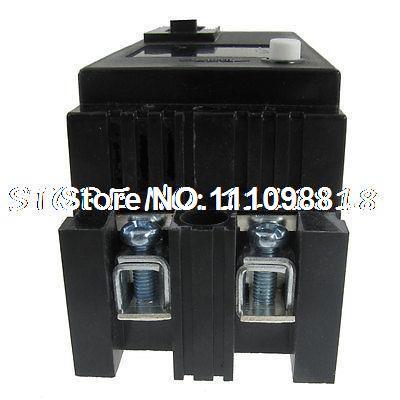 100A 100 Amp 2 pólos 2 P disjuntor de corrente Residual RCCB disjuntor 220 V AC(China (Mainland))