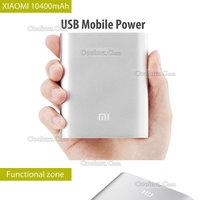 Original Xiaomi Power Bank 10400mAh Portable practical Xiaomi M3 M2S M2A Red Rice Hongmi Battery 5.1V-2.1A Output