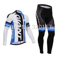 2014 NEW GIANT bicicleta Ropa ciclismo bicicleta  winter Fleece Thermal Cycling Jersey bicycle bike maillot clothing (bib) pant