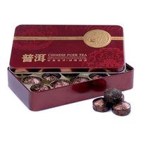 High Quality Rich Aroma Fresh Chinese Yunnan Compressed Pu 'er MiNi Bowl Original Taste Ripe Tea With Tin Box Free Shipping
