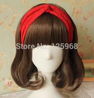 Free Shipping 2014 New Fashion 10pcs/lot Lace Turban Twist Headband Stretchy Lace Wide HeadBand Head hair wrap