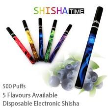 500 puffs portable disposable e-cigarette e cig e shisha pen e hookah pen best price 5pcs/lot free shipping