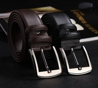 2014 the new high-quality goods Pin buckle good quality really leather male belt free shipping