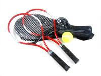 1 Pair Regail W150 Child Tennis Racket Training Tennis Racquet Aluminum Alloy Red
