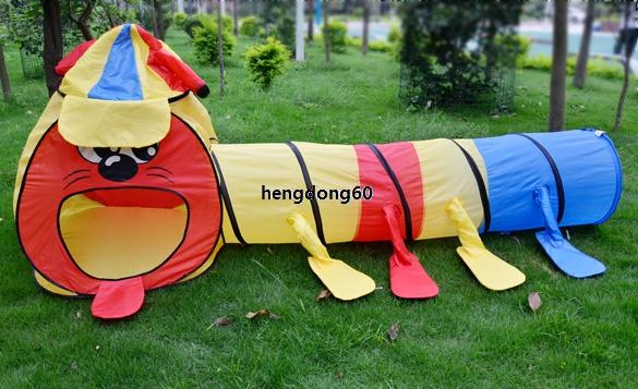 B5UT Crianças Boy Girl portátil Game Room Túnel Design Jogue Big Tent Toy Playhouse(China (Mainland))