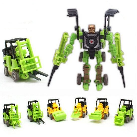 kids robots Truck Toy cars Animation Children Model Toy cars Wholesale price(China (Mainland))