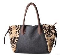 Fashion 2015 fall winter women's handbag tote bag large capacity B189