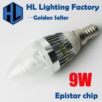 4W  E14  LED warm white candle bulb
