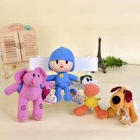4pcs/lot Classic Pocoyo Baby Kids Soft Plush Toys Doll Yoyo Pato Loula Dolls for Boys and Girls portuguese brazil pelucias