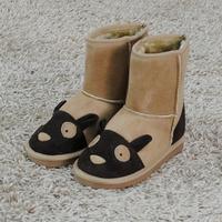 Snow Boots Chaussure Enfant Boy/Girl Cartoon Warm Children Shoes Winter Baby Boots TX34