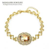 Neoglory Austria Crystal & Rhinestone Fashion Bangles & Bracelets For Women 14K Gold Plated Jewelry Accessories 2014 New Charm