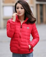 New 2014 Autumn And Winter Fashion Women's Down Coat Short Paragraph Slim Thick Padded Jacket