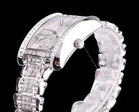 Original Davena Luxury Women's Wrist Watch, Crystal, Stainless Steel, Vintage, High Quality, Elegant Rich Bloom,  60101