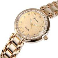 Upstart Watch& Brand Women Fashion Diamante Female Luxury Stainless Steel Quartz Watches Lady's Watches Free Shipping